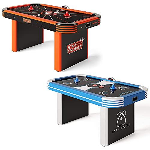 Sportime LED-Airhockey-Tisch 5,5 ft   LED Pucks und Pusher  ...