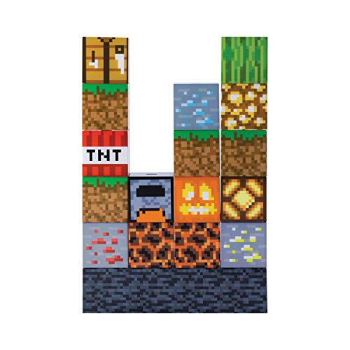 Lampe Minecraft Block (Lampe zum Selbstgestalten)