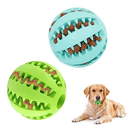 opamoo Hundeball mit Zahnpflege ,2pcs Snackball Dentalball...