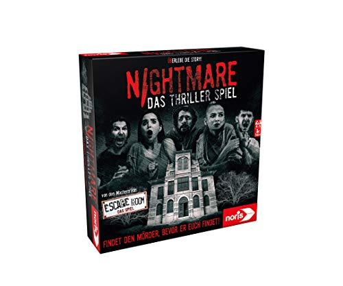 Noris 606101896 - Nightmare - Das Thriller Spiel mit dem...
