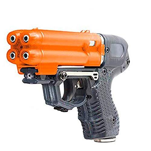 PIEXON Pfefferspraypistole JPX6 mit 4 Schuss Speedloader...