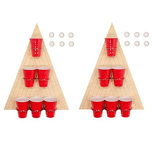 Mini Beer Pong Tisch als Trinkspiel für Party, Festivals und...