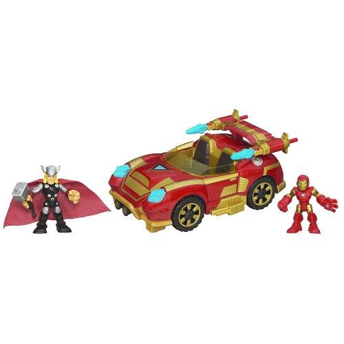 Playskool Heroes Marvel Iron Man Adventures Repulsor Racer...