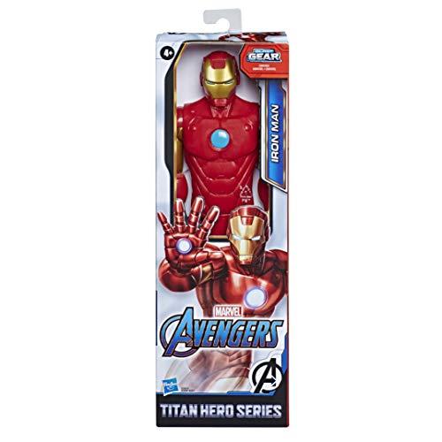 Marvel Avengers Titan Hero Serie Iron Man, 30 cm große...