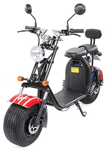 eFlux Chopper Two Elektroroller E-Scooter - Straßenzulassung -...