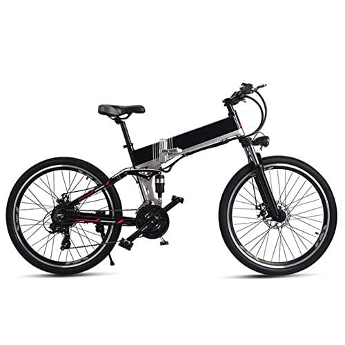 HMEI elektrofahrrad klappbar 26 Zoll Elektro-Mountainbike 500W...