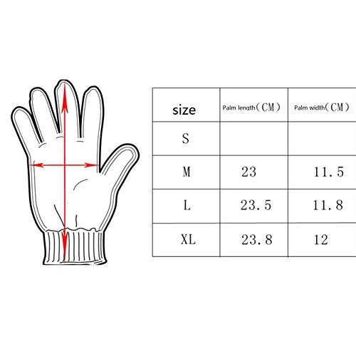 Militärische taktische Touchscreen-Handschuhe aus Gummi, harte...