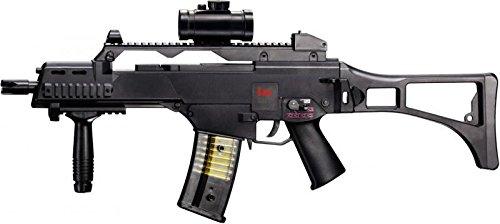 Softair - Gewehr Heckler & Koch G36 C max 0,5 J - elektrisch - Abzugsicherung + 5000 Combat...