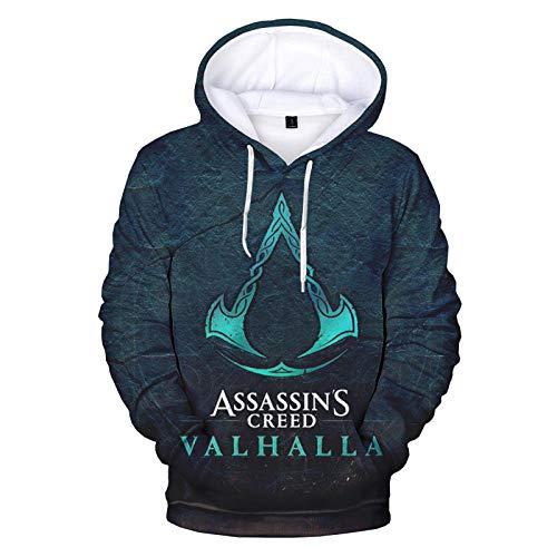 TSIgorjds Kapuzenpullover Mit 3D-Gedruckten Assassins Creed Men...