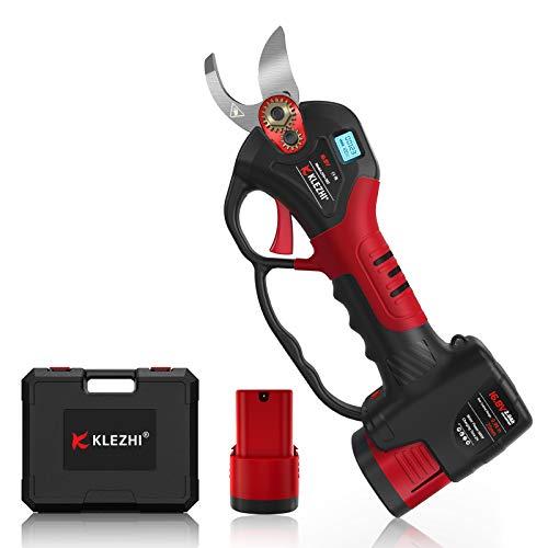 K KLEZHI Akku Astschere mit LED und Schutzstange, MAX 25mm...