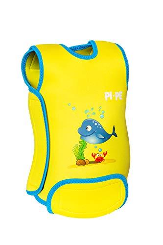 PI-PE Baby Warmer Neopren Schwimmanzug Yellow L (12-18 Monate)