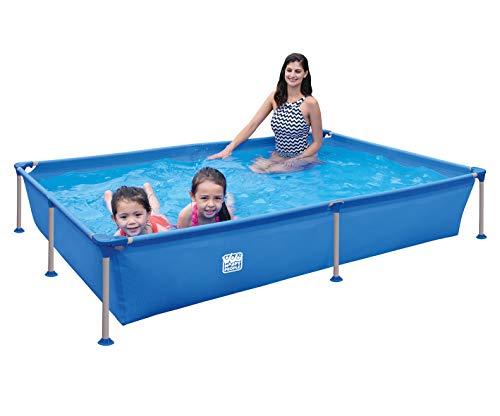 Happy People Wehncke - Frame Pool - Aufstellpool - rechteckig -...