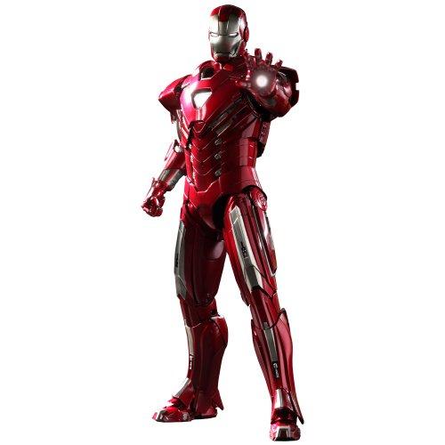 Iron Man 3 Silver Centurian Mark XXXIII (33) Hot Toys 1:6 Scale...
