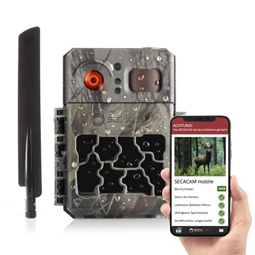 SECACAM Pro Plus Mobile LTE 4G Wildkamera inkl. 100 Bilder mit...