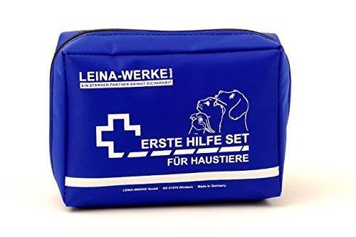 LEINA-WERKE REF 52001 Erste-Hilfe-Set für Haustiere, 24-teilig,...