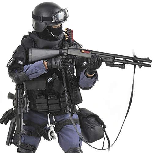 Batop 1/6 Soldat Modell, 12 Zoll SWAT Spezielle Polizei Soldat...
