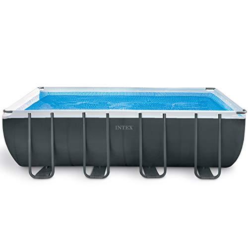 Intex Schwimmbadrahmen-Set Ultra Quadra, 549 x 274 x 132 cm, XTR...