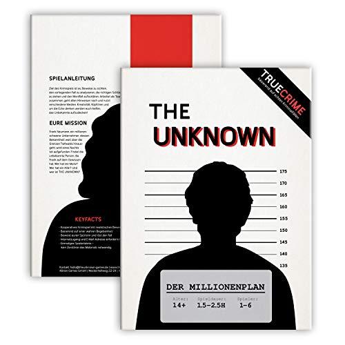 The Unknown Fall 1 – der Millionenplan, Krimi Escape Room Game...
