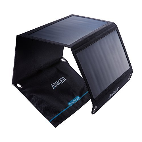 Anker PowerPort Solar Ladegerät 21W 2-Port, USB Solarladegerät...