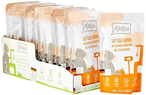 MjAMjAM - Premium Nassfutter für Katzen - Quetschie - saftiges...