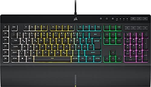 Corsair K55 RGB PRO Kabelgebundene Membran-Gaming-Tastatur...