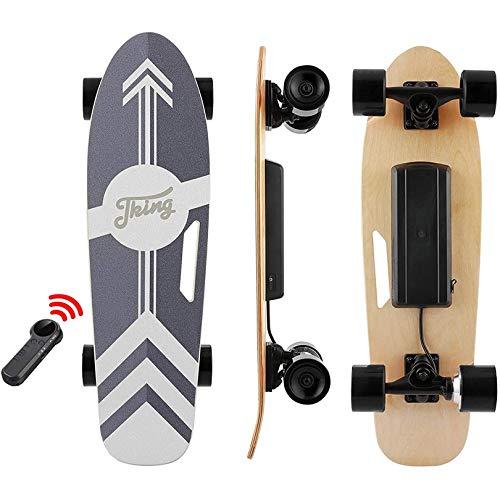 Tooluck Elektro Skateboard 77cm mit Drahtloser Bluetooth...