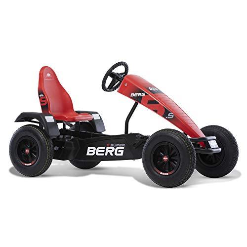BERG E-Gokart mit XXL-Frame Extra Sport Red mit Dreigangschaltung...