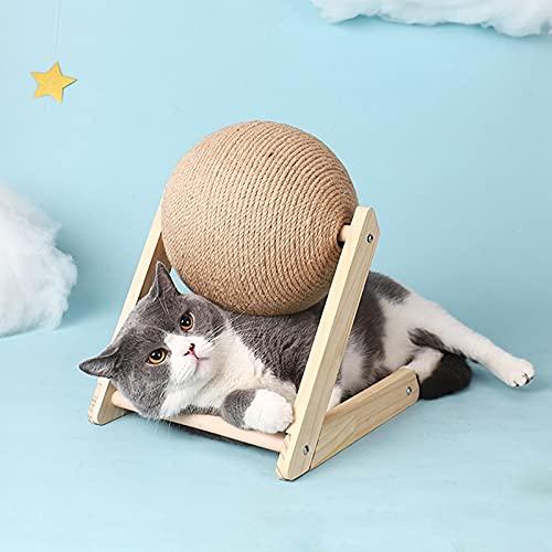 Dr&Phx Für Spielzeug Katzenkratzball Spielzeug Kätzchen Sisal...