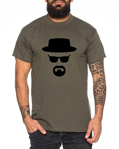 Heisenberg Herren T-Shirt Hermanos Bad Mr White Breaking,...
