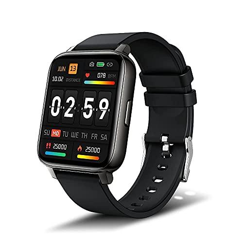 iporachx Smartwatch für Damen Herren, 1.69 Zoll Fitnessuhr...