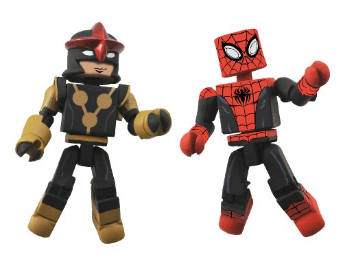 Diamond Select Toys Marvel Minimates Series 51 Marvel Now Spider-Man and Nova (Sam Alexander)...