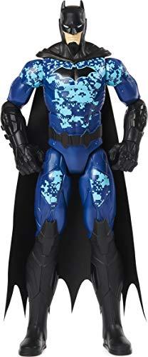 BATMAN 6060343 12-inch Bat-Tech Tactical Action Figure (Blue Suit), for Kids Aged 3...