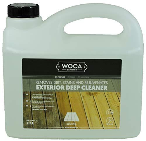 WOCA Außenholzintensivreiniger Exterior Deep Cleaner 2,5 Liter