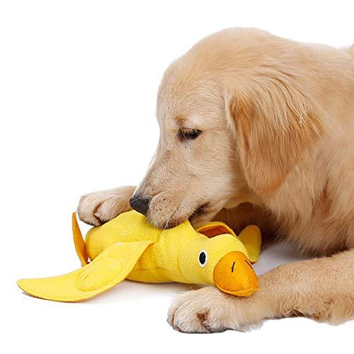 Hundespielzeug Entenform Langsame Zuführung, Quietschspielzeug...
