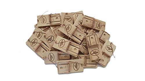 Klassische Holz Mausefallen 20 Stück