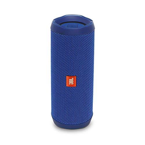 JBL Flip 4 Bluetooth Box in Blau – Wasserdichter, tragbarer...