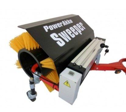 POWERPAC Akku Kehrbesen 50cm passend für Elektro-Schneeräumer...