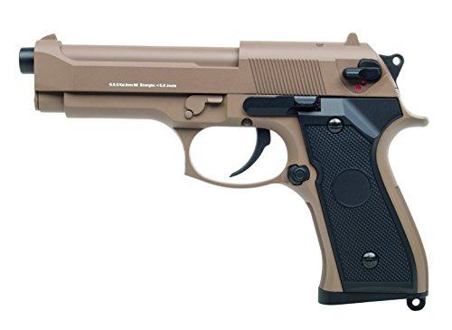 Softair Pistole GSG M92 Vollmetall, Kal. 6mm, AEP-System  0,5...
