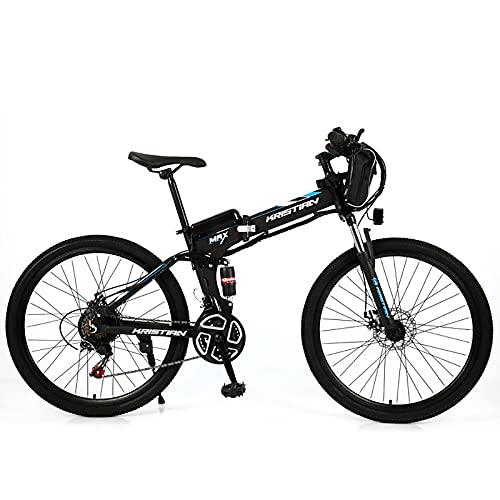 ZGZFEIYU 26-Zoll-Elektrofahrrad Mountainbike Für Erwachsene Mit...