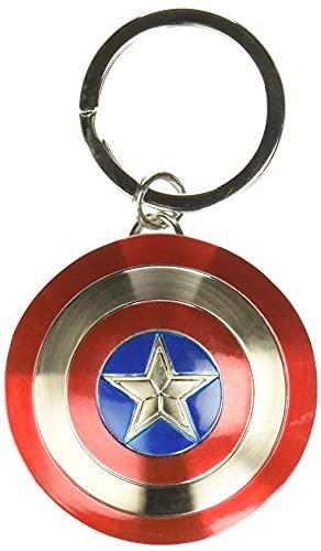 Captain America Zinn Schlüsselanhänger