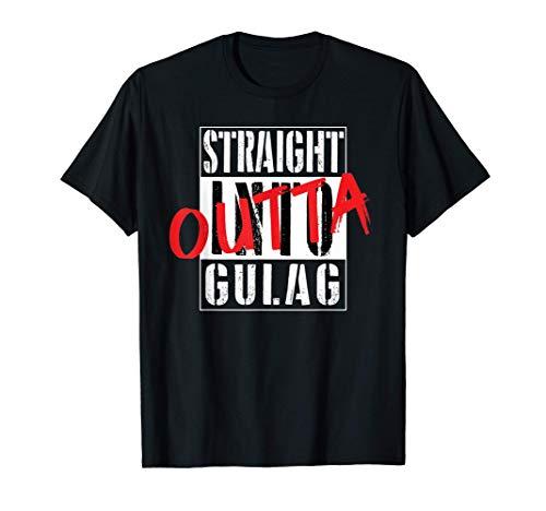Warzone Straight Outta Gulag Duty Call Gamer Geschenk T-Shirt