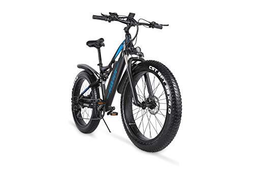 VOZCVOX Elektrofahrräder Ebike Mountainbike, 26' Elektrisches...