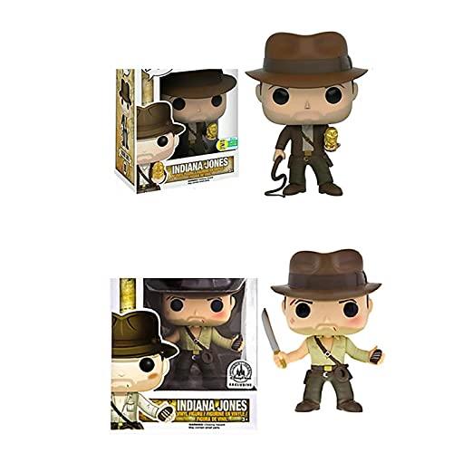 2 Stück Film Indiana Jones 199 # 200 # Action-Figuren...