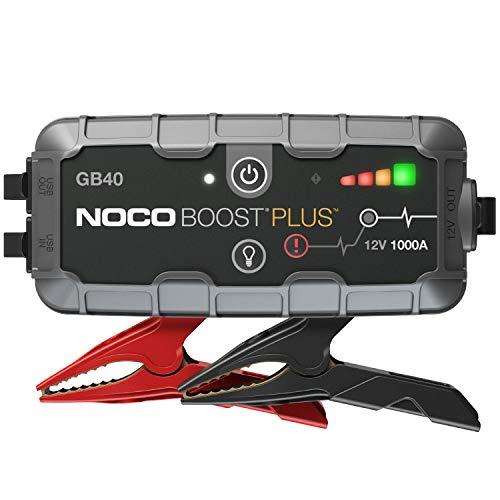 NOCO Boost Plus GB40 1000A 12V UltraSafe Starthilfe Powerbank,...