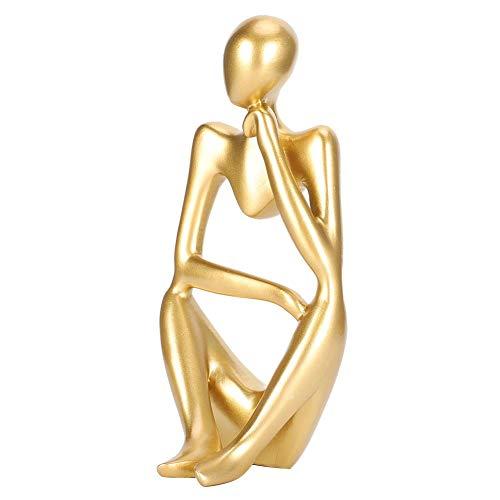 nobrand Die Denker-Statue, handgemachte abstrakte Denker-Skulptur Moderne bildende...