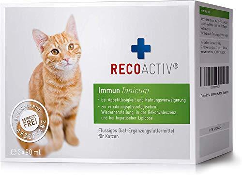 RECOACTIV Immun Tonicum für Katzen, 3 x 90 ml,...