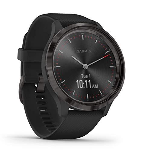 Garmin vívomove 3 – stilvolle Hybrid-Smartwatch mit analogen Zeigern & OLED-Display,...