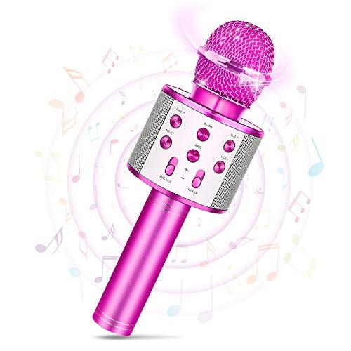 Tesoky Mädchen Geschenke 8 5 12 10 11 3 4 6 7 9 Jahre, Mikrofon...