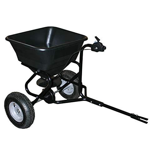Handwagen Streuwagen für Aufsitzmäher 30kg mit Luftreifen für...