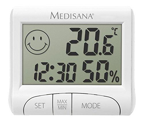 Medisana HG 100, digitales Hygrometer für innen, Thermometer mit...